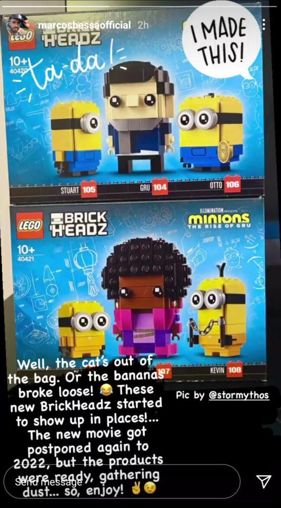 LEGO Minions Rise of Gru