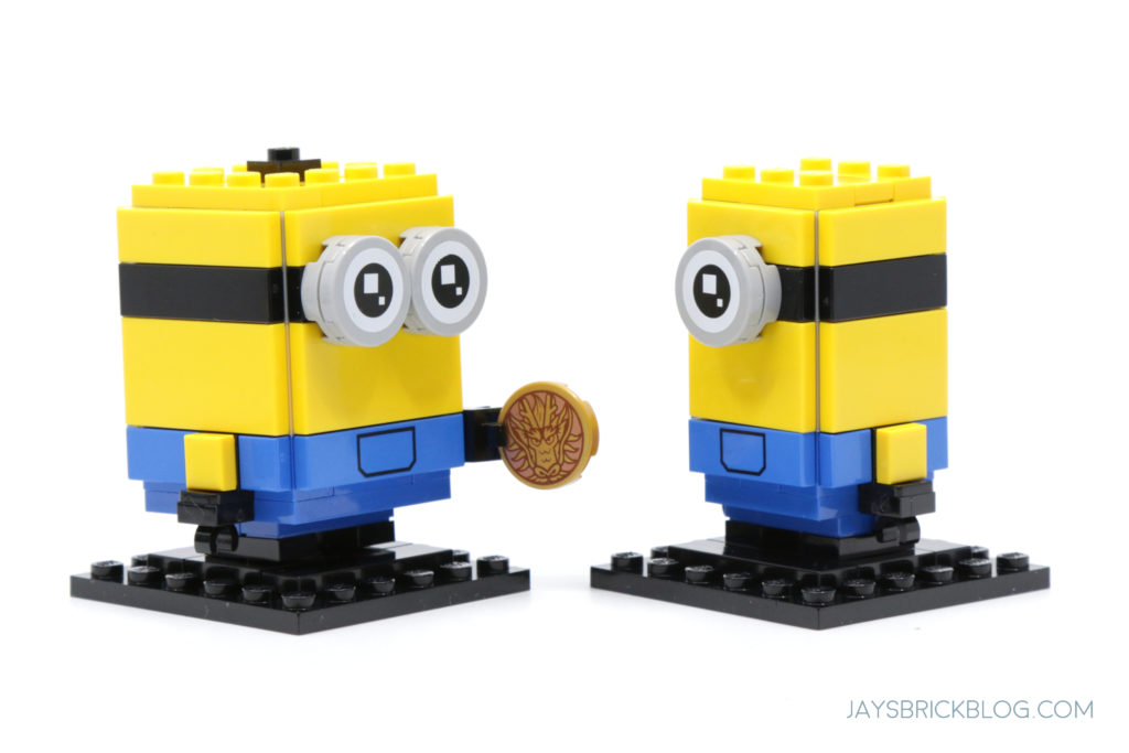 LEGO Minions Stuart and Bob Brickheadz