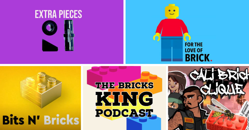 LEGO Podcasts Feature Photo