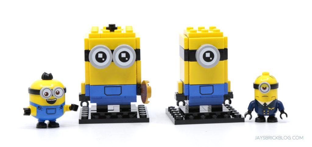 LEGO Stuart and Bob Brickheadz Minifigure