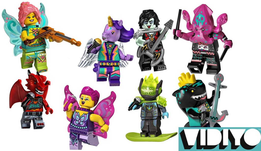 LEGO Vidiyo Summer 2021 Minifigures