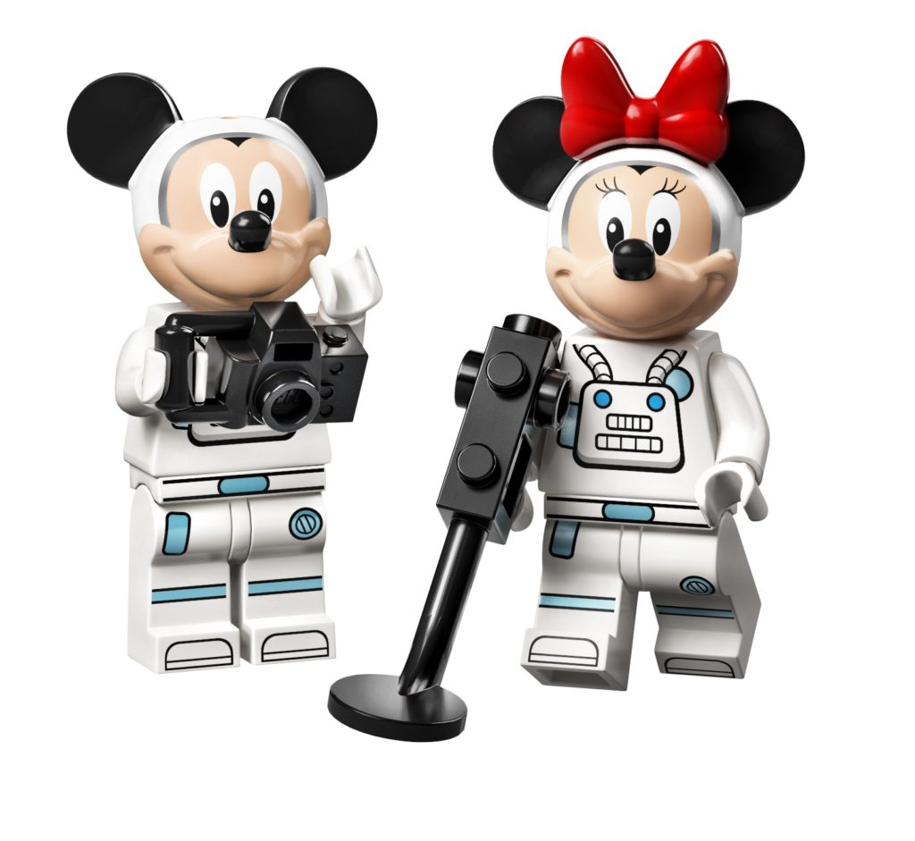 10774 Mickey Mouse Minnie Mouses Space Rocket Mickey and Minnie Astronauts