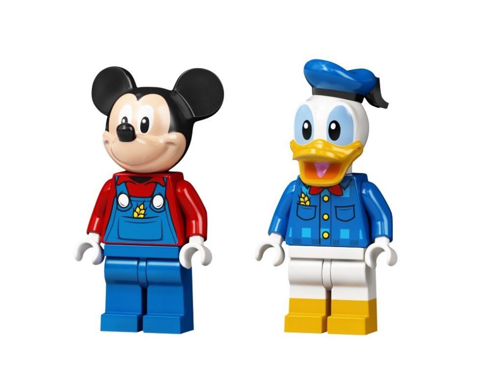10775 Mickey Mouse Donald Ducks Farm Minifigures