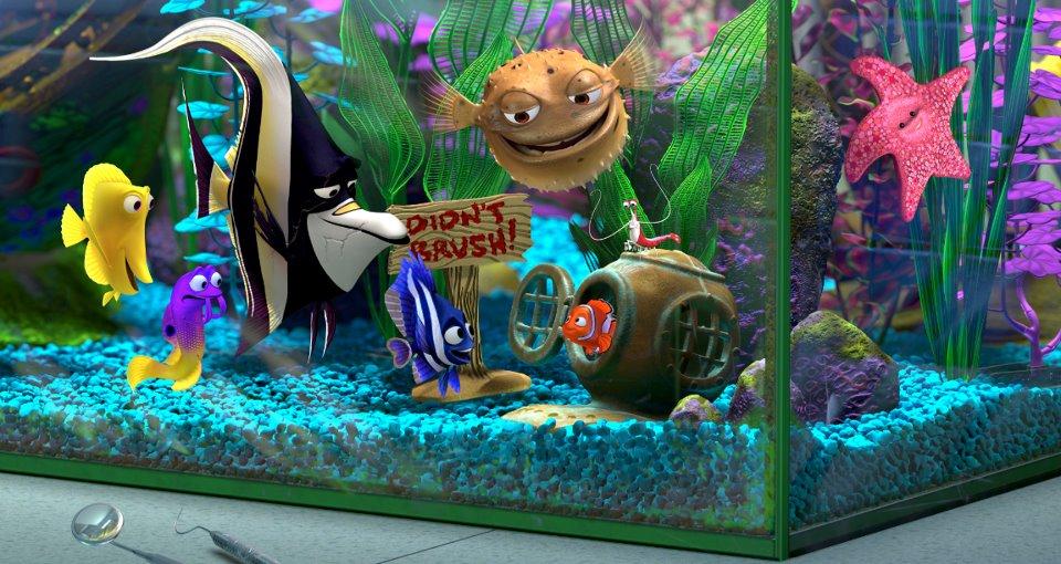 Finding Nemo Tank Gang Aquarium
