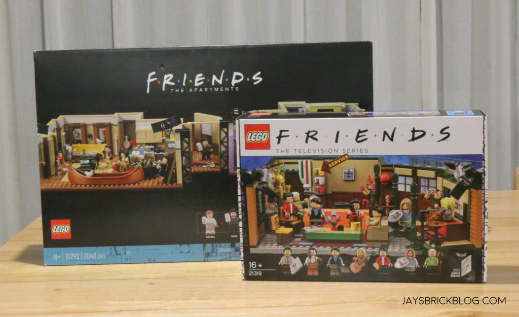 LEGO 10292 The Friends Apartments Box Comparison