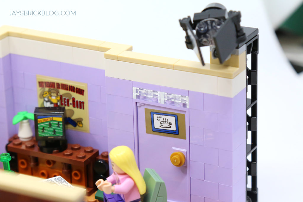 LEGO 10292 The Friends Apartments Door Poster