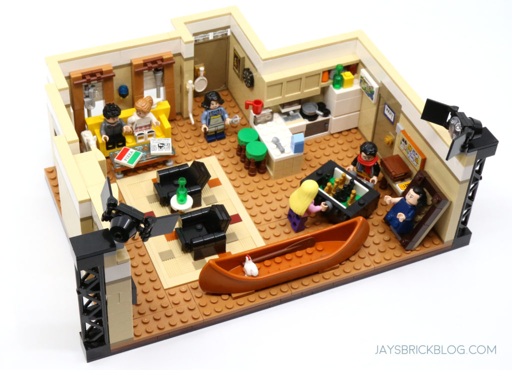 LEGO 10292 The Friends Apartments Joey Chandler Apartment