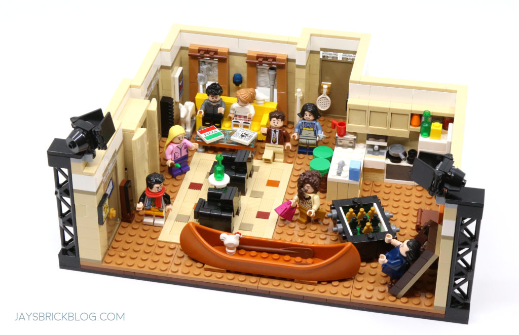 LEGO 10292 The Friends Apartments Joey and Chandlers Apartment