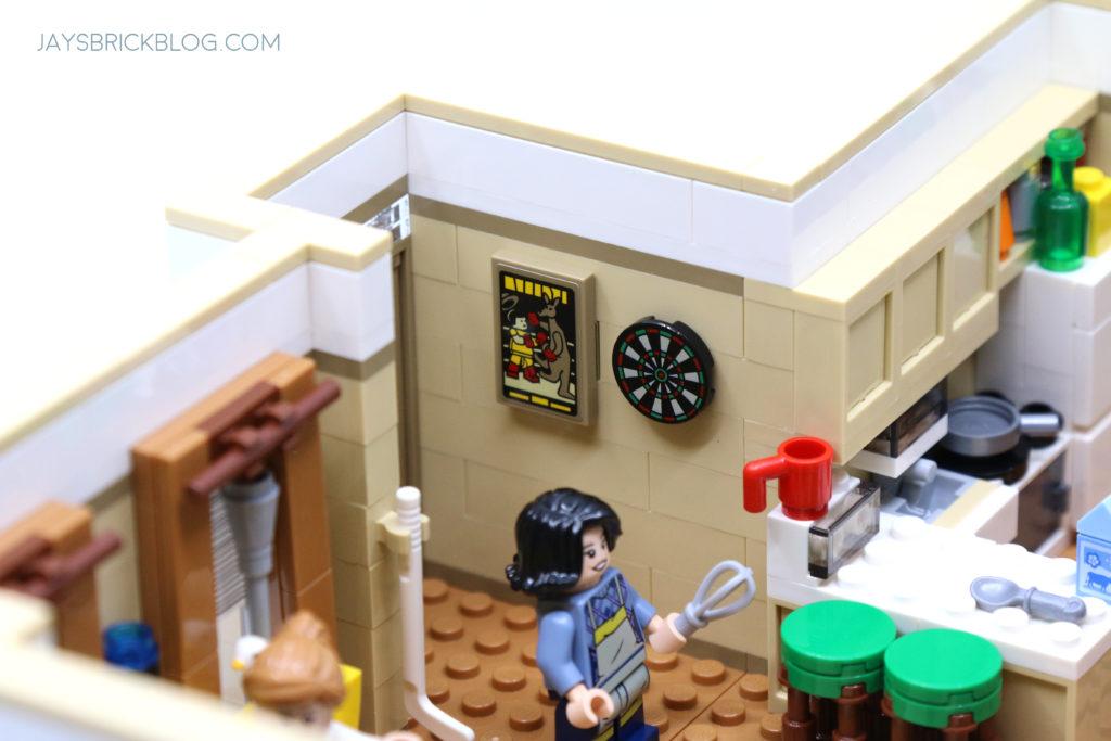 LEGO 10292 The Friends Apartments Kangaroo Boxer Poster