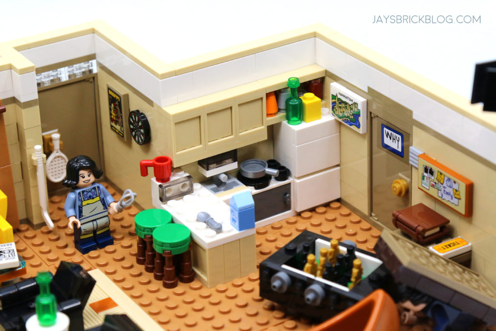 LEGO 10292 The Friends Apartments Kitchen Area