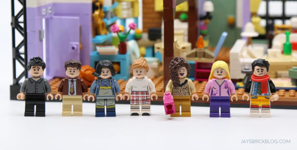 LEGO 10292 The Friends Apartments Minifigures