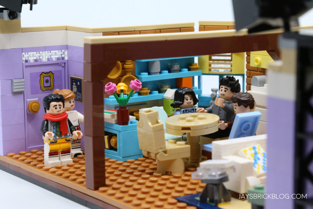 LEGO 10292 The Friends Apartments Monica