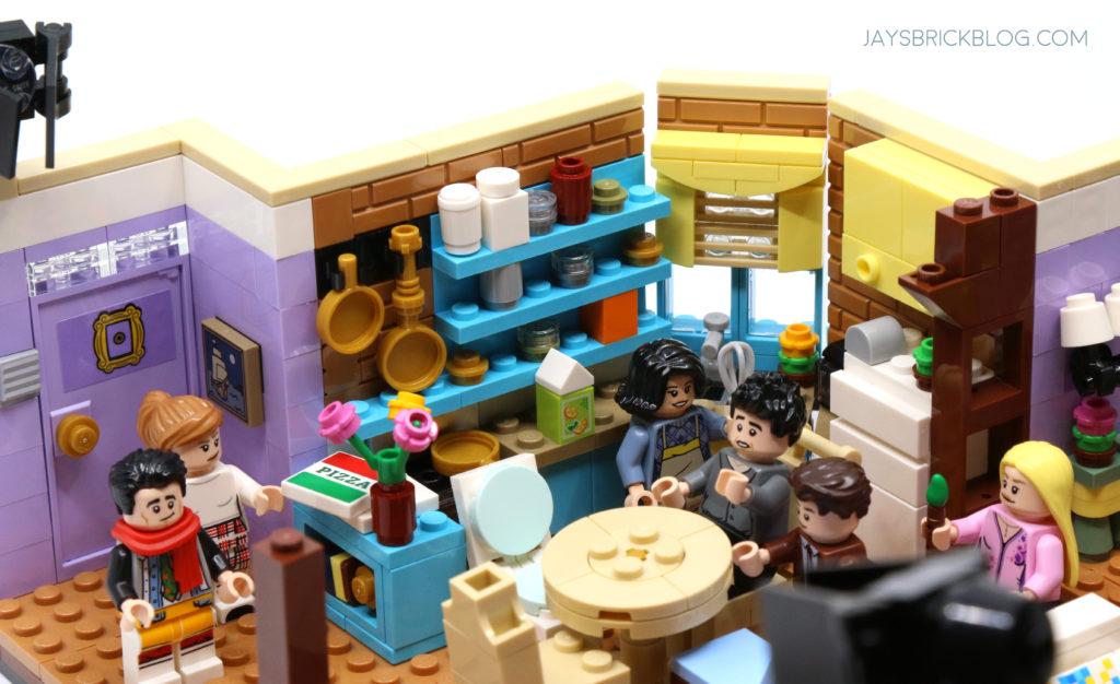 LEGO 10292 The Friends Apartments Monicas Kitchen