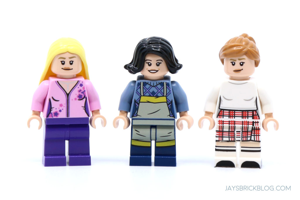 LEGO 10292 The Friends Apartments Phoebe Monica and Rachel Minifigs