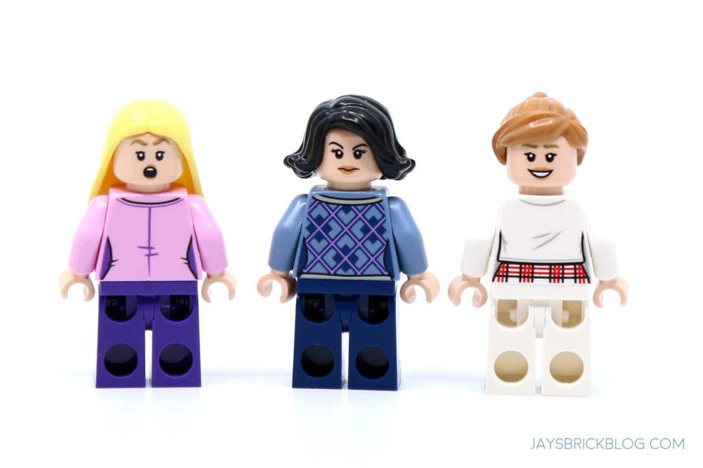 LEGO 10292 The Friends Apartments Phoebe Monica and Rachel Minifigs Back