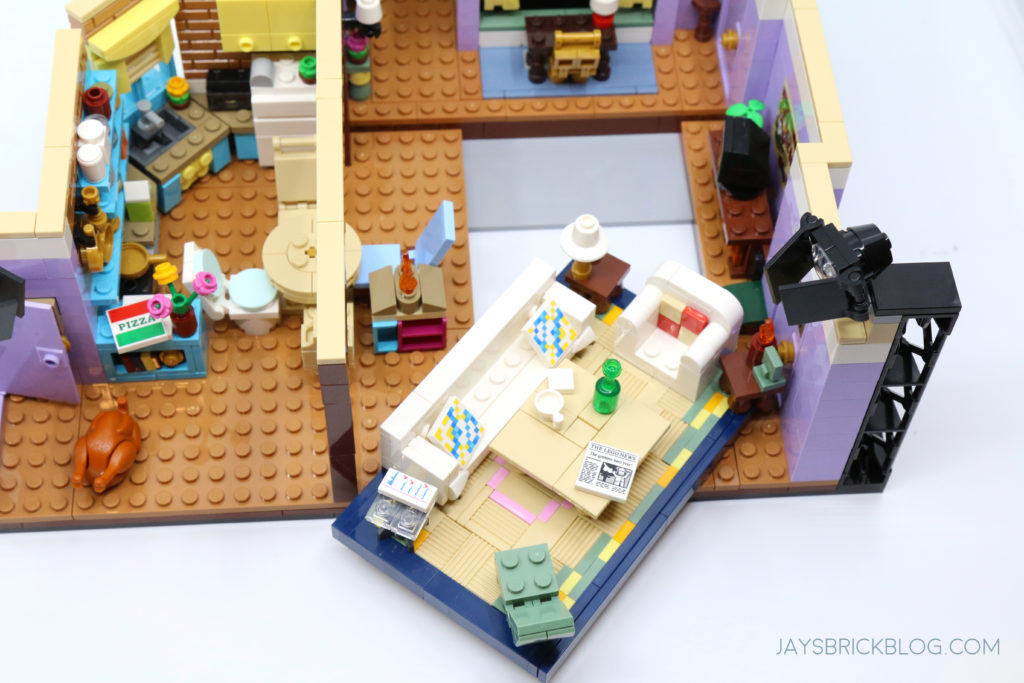 LEGO 10292 The Friends Apartments Removable Section