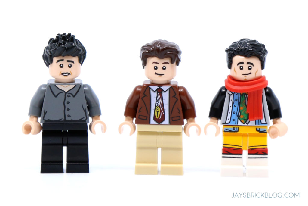 LEGO 10292 The Friends Apartments Ross Chandler Joey Minifigs