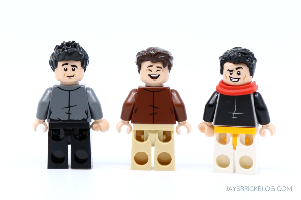 LEGO 10292 The Friends Apartments Ross Chandler Joey Minifigs Back