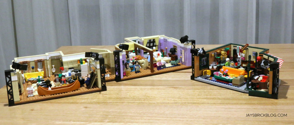 LEGO 10292 The Friends Apartments Sets