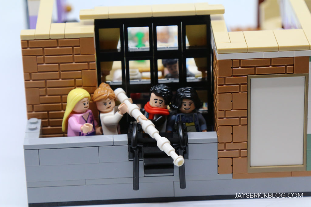 LEGO 10292 The Friends Apartments Stick Naked Guy