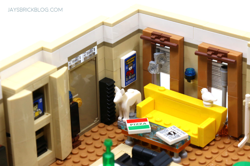 LEGO 10292 The Friends Apartments Yellow Couch