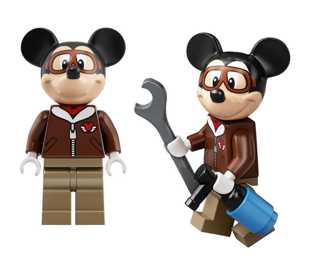 LEGO 10772 Mickey Mouses Propeller Plane Mickey Mouse Pilot Minfiigure