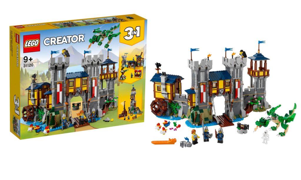 LEGO 31120 Medieval Castle Creator Feature Image