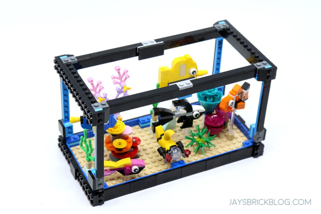 LEGO 31122 Fish Tank Aquarium Frame