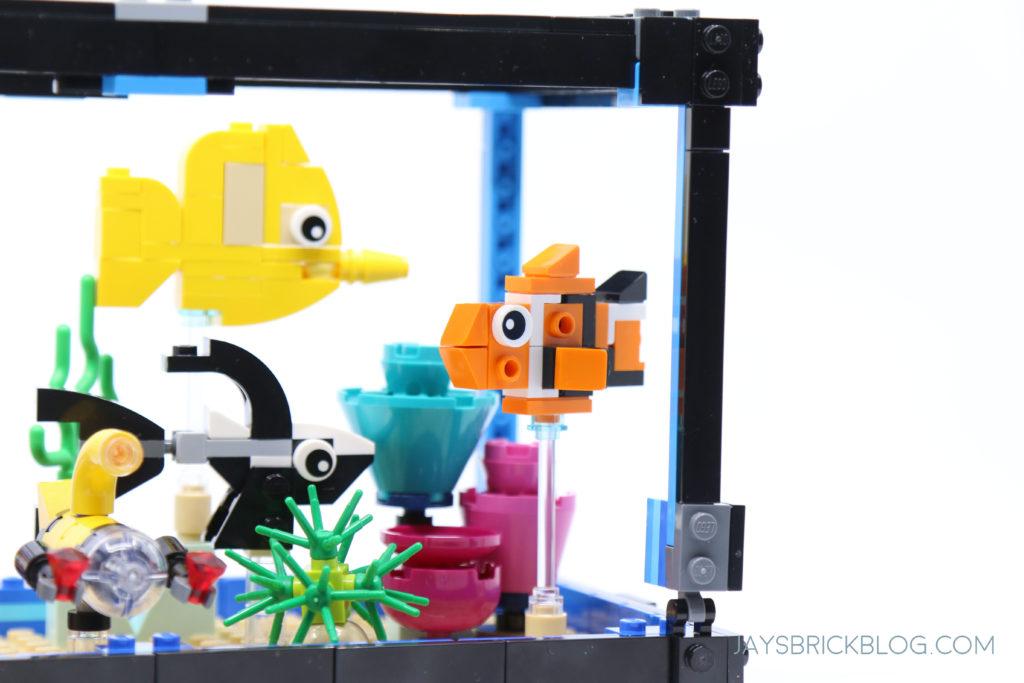 LEGO 31122 Fish Tank Aquarium Nemo Clownfish