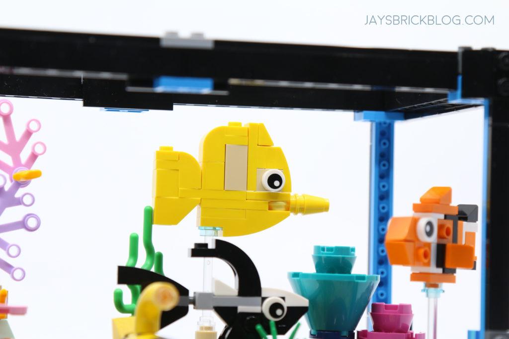 LEGO 31122 Fish Tank Aquarium Yellow Tang Fish