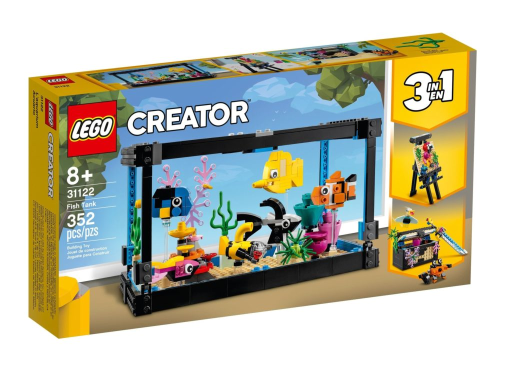 LEGO 31122 Fish Tank Box