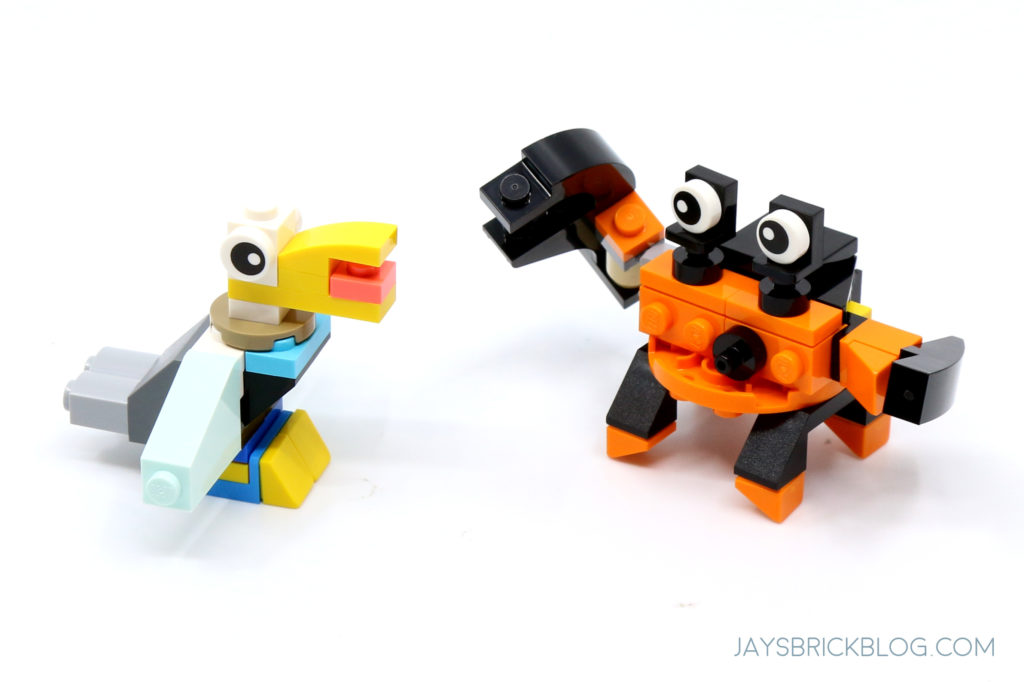 LEGO 31122 Fish Tank Pelican and Crab
