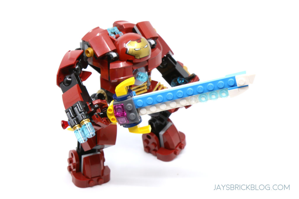 LEGO 31122 Fish Tank Sword and Hulkbuster