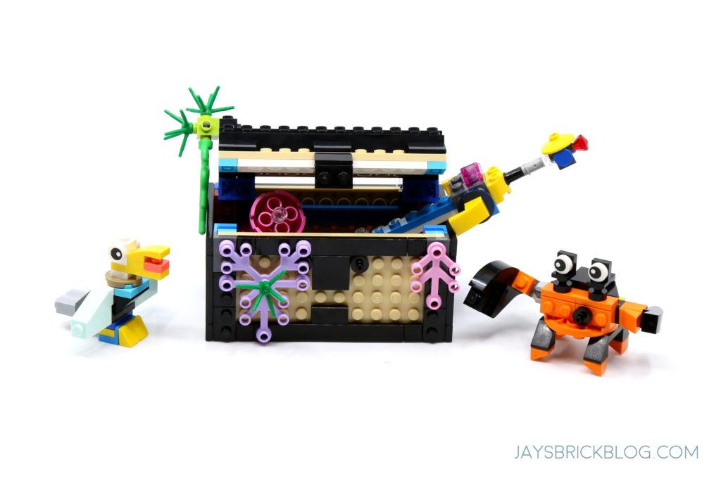 LEGO 31122 Fish Tank Treasure Chest