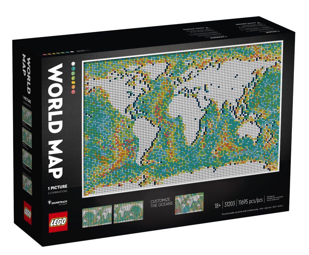 LEGO 31203 World Map Box