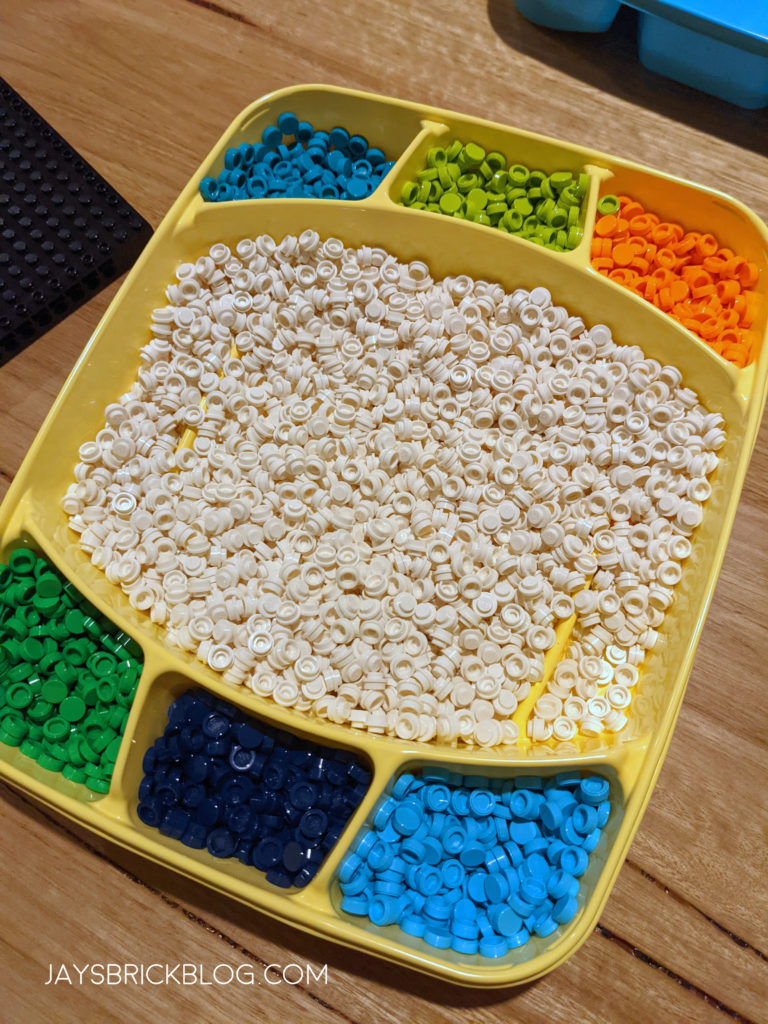 LEGO 31203 World Map Sorting Tray Dots