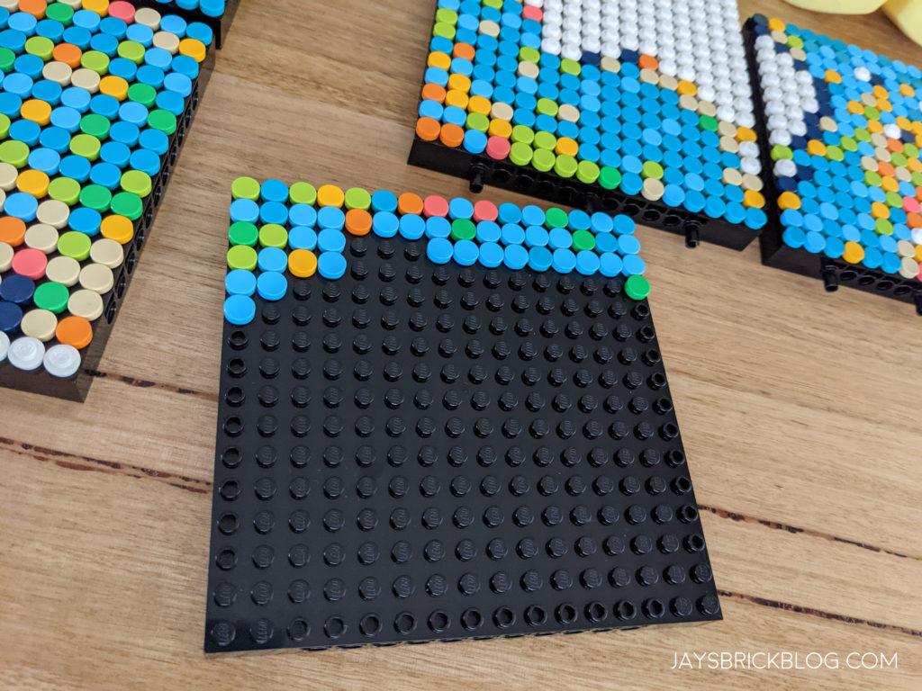 LEGO 31203 World Map Work in Progress Plate