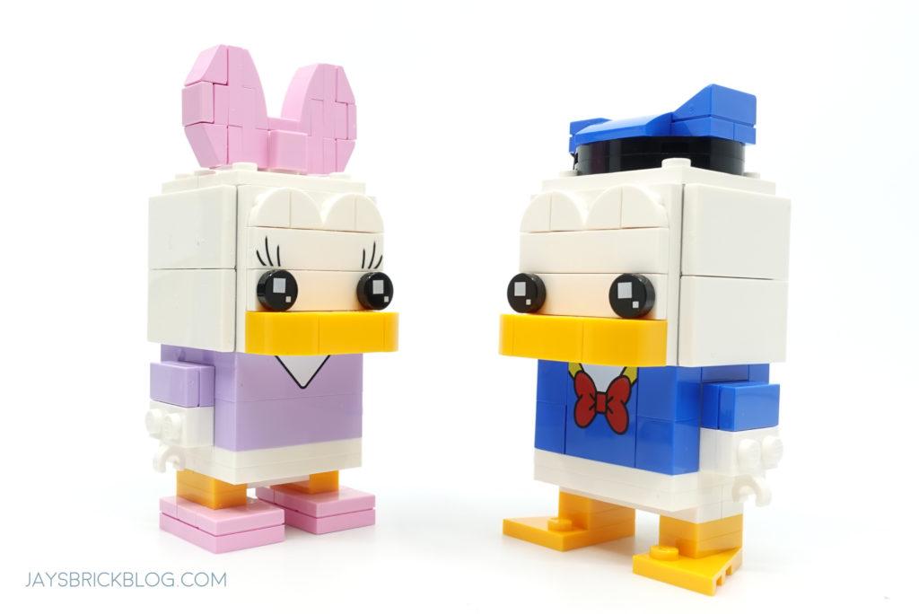 LEGO 40476 Daisy Duck Brickheadz Daisy and Donald Duck