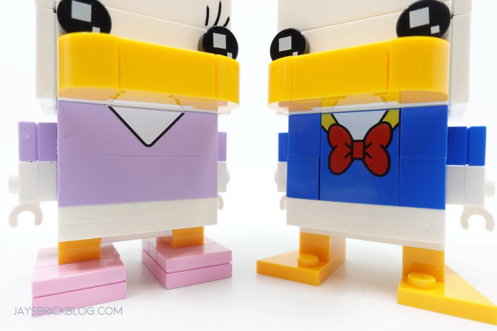 LEGO 40476 Daisy Duck Brickheadz Printed Elements