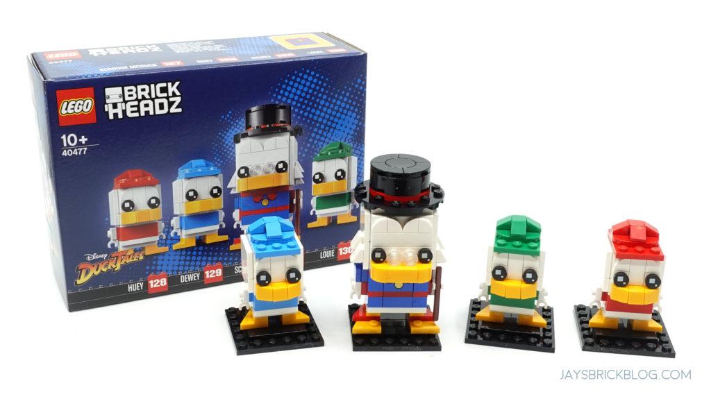 LEGO 40477 Ducktales Brickheadz Box