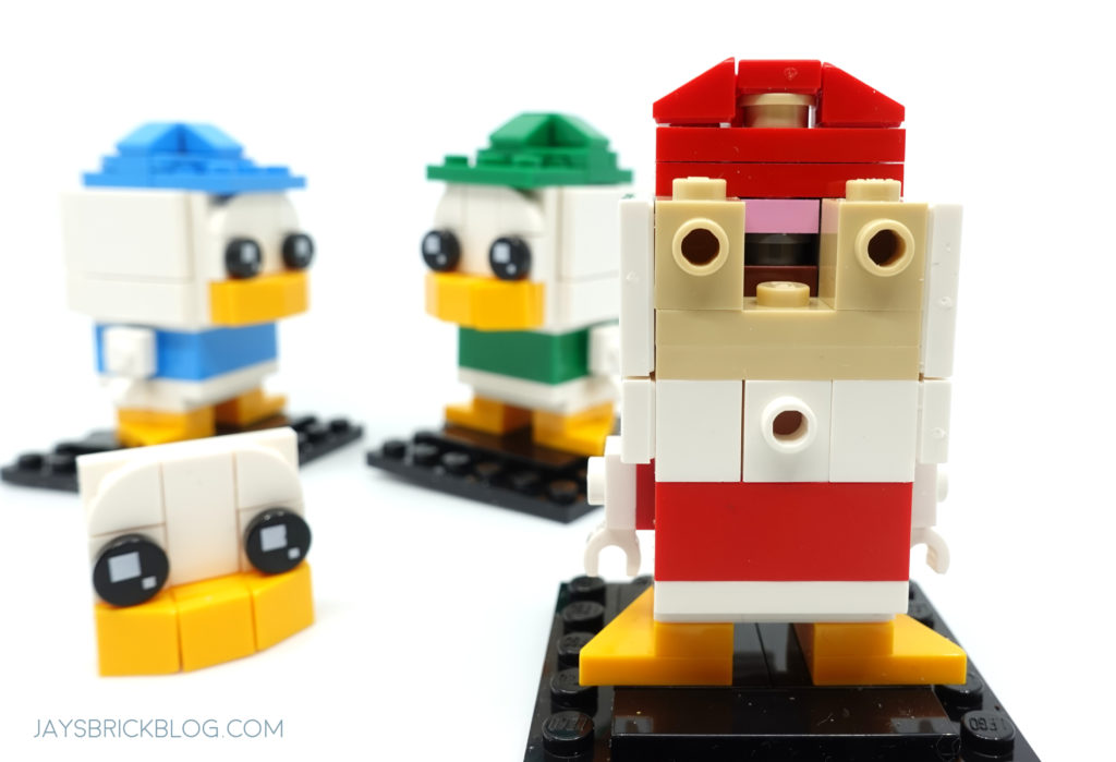 LEGO 40477 Ducktales Brickheadz Dewey Louie Huey Brains