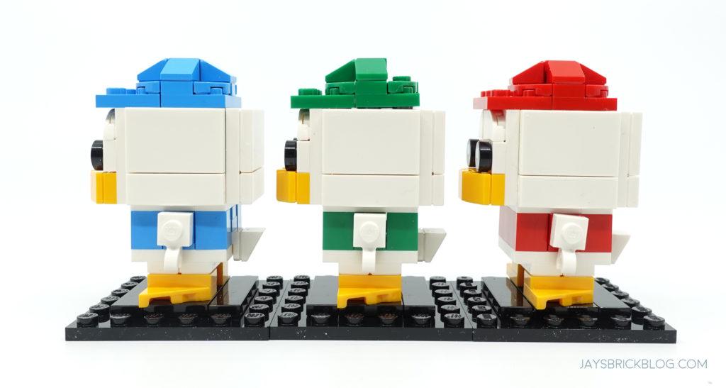 LEGO 40477 Ducktales Brickheadz Dewey Louie Huey Side