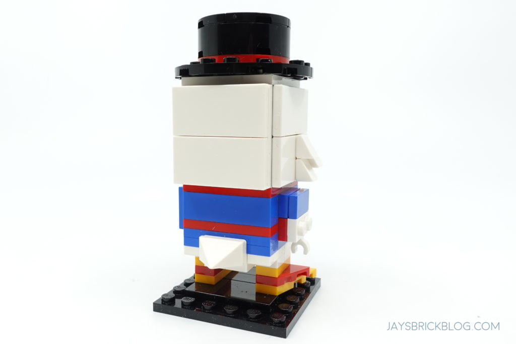 LEGO 40477 Ducktales Brickheadz Scrooge McDuck Back