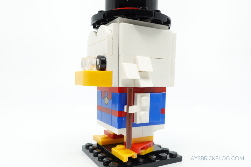 LEGO 40477 Ducktales Brickheadz Scrooge McDuck Side