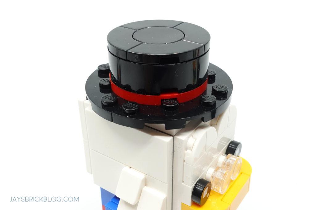 LEGO 40477 Ducktales Brickheadz Scrooge McDuck Top Hat