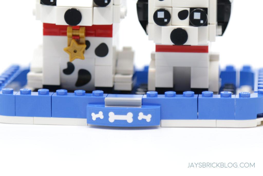 LEGO 40479 Dalmatian Brickheadz Bone Plate