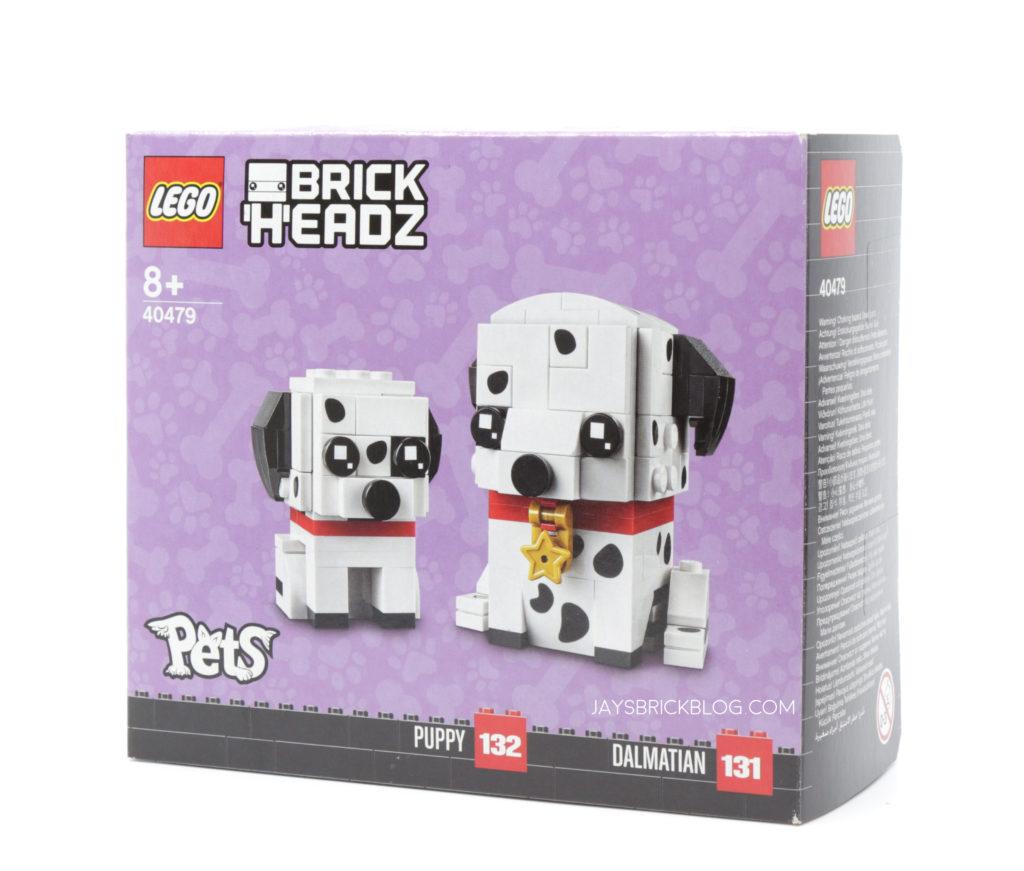 LEGO 40479 Dalmatian Brickheadz Box
