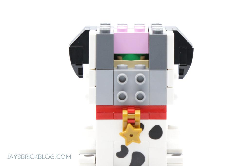 LEGO 40479 Dalmatian Brickheadz Brain