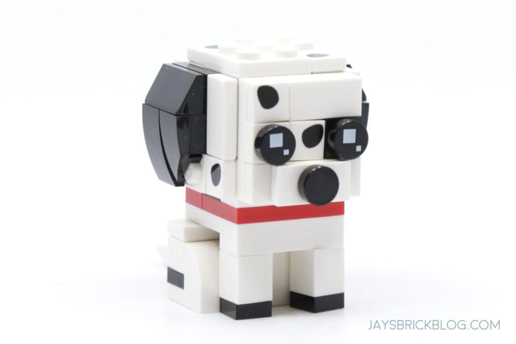LEGO 40479 Dalmatian Brickheadz Dalmatian Puppy Side