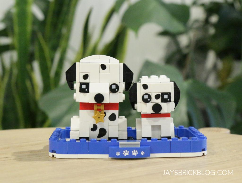 LEGO 40479 Dalmatian Brickheadz Lifestyle
